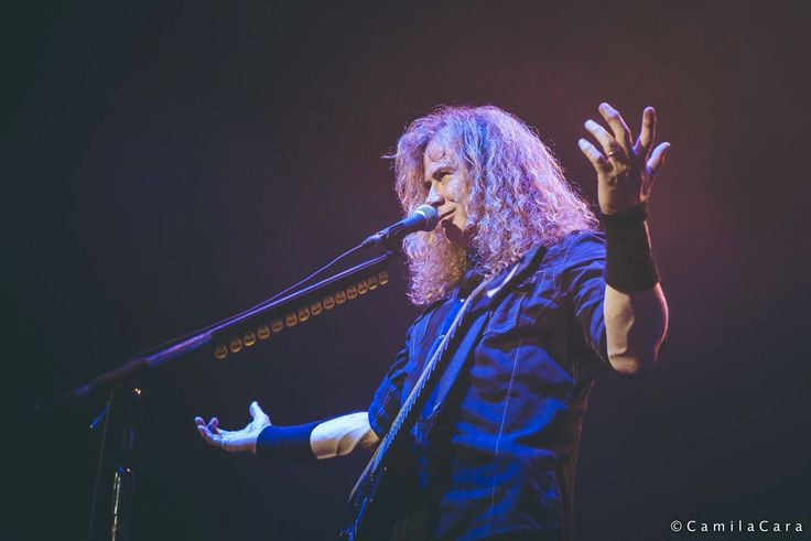 Dave Mustaine Dystopia world tour