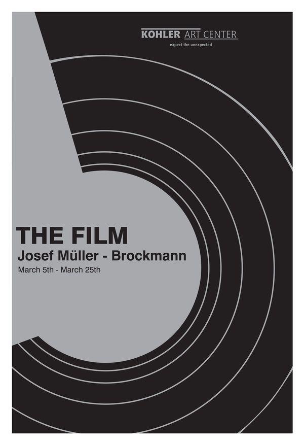 Josef Muller-Brockmann Posters by KJ Ehr, via Behance
