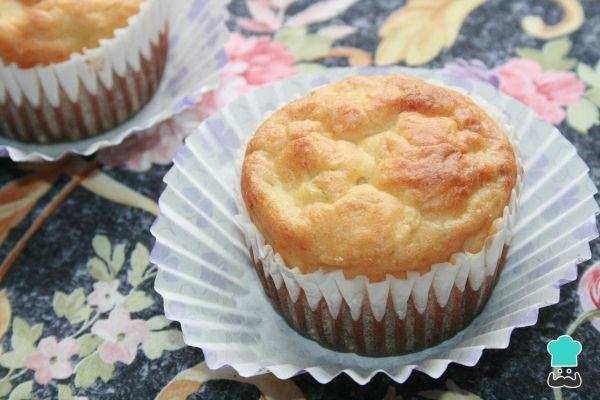 Receta de Muffins salados de calabacín