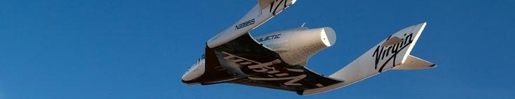ini pesawatnya Virgin Galactic rekreasi ruang angkasa tiketnya 200.000 USD