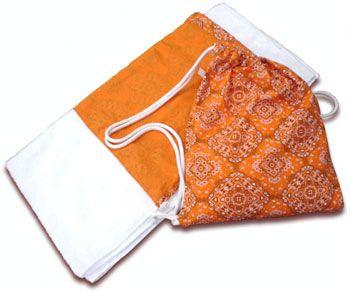 Como fazer bolsa de praia que vira toalha