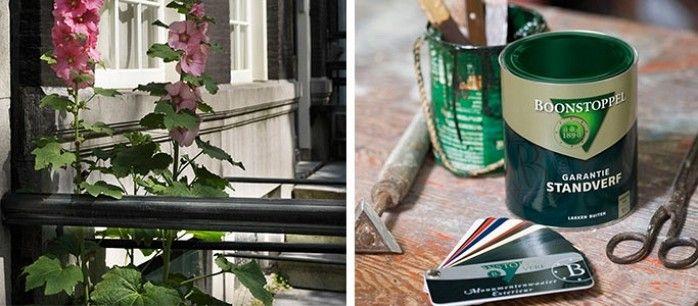 Boonstoppel #verf authentieke kleuren en #monumentenkleuren.  Te koop bij Verf & Wand speciaalzaken. Puur vakmanschap en ambacht.
