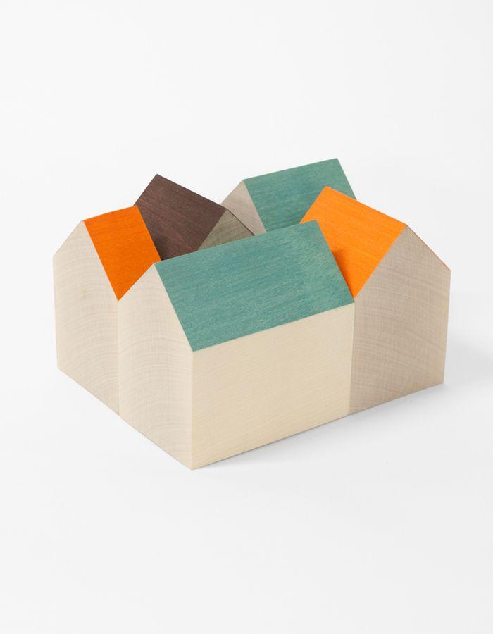 Domus Nordic / Wooden Decor Set / van Wright  http://mocoloco.com/vote/feed/