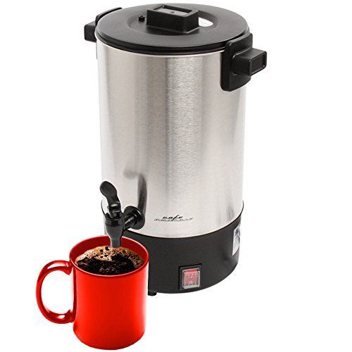 Cafe Amoroso 30 Cup Commercial Electric Coffee Maker Urn - http://teacoffeestore.com/cafe-amoroso-30-cup-commercial-electric-coffee-maker-urn/