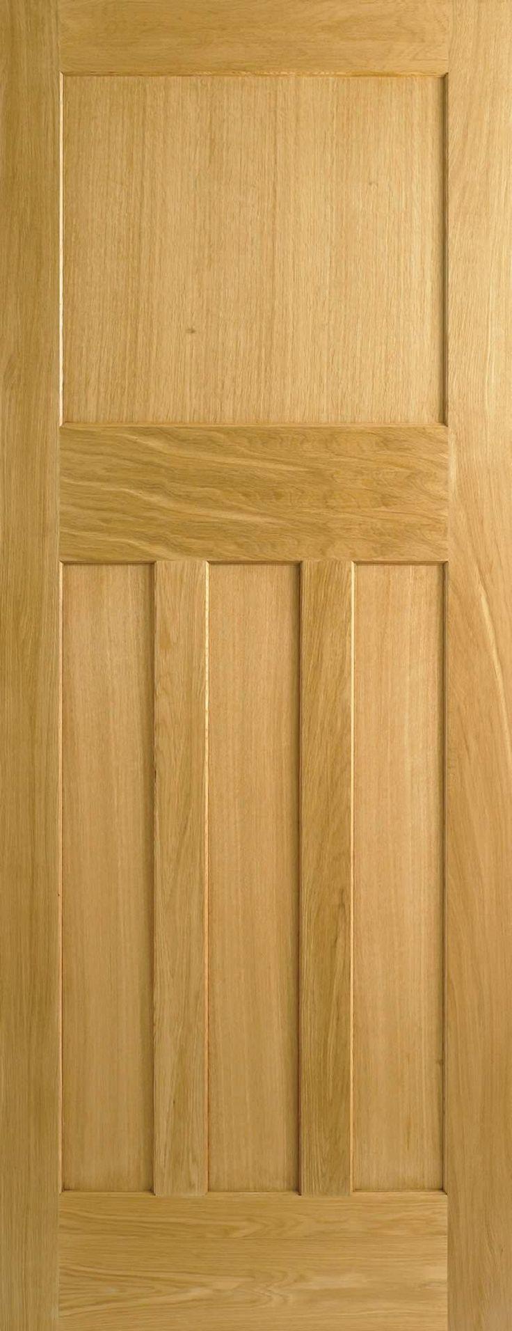 DX 30's Style Oak Nostagia Internal Fire Doors FD30
