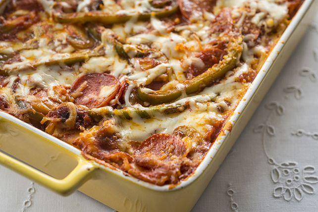 Aimez-vous autant la lasagne que la pizza? Alors, vous devez essayer cette recette. Tout le monde en redemandera!