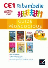 Ribambelle CE1 série jaune - Guide pédagogique. 1 CD audio - Jean-Pierre Demeulemeester et Nadine Demeulemeester -  https://hip.univ-orleans.fr/ipac20/ipac.jsp?session=14857E9710RV0.772&profile=scd&source=~!la_source&view=subscriptionsummary&uri=full=3100001~!591916~!0&ri=12&aspect=subtab66&menu=search&ipp=25&spp=20&staffonly=&term=9782218964428&index=.IN&uindex=&aspect=subtab66&menu=search&ri=12
