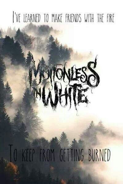 To Keep from Getting Burned | Motionless In White // When Love Met Destruction