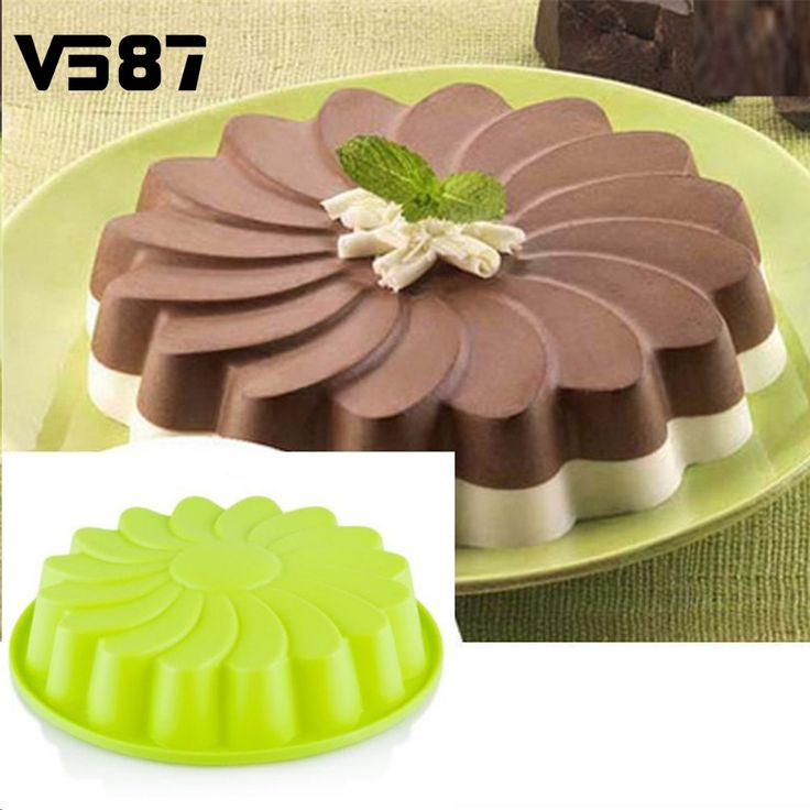 Aliexpress.com : Buy Silicone Flower Shape Round Cake Mold Chocolate Bread Mould Kitchenware Pan Kitchen Bakery Baking Decorating Tools Bakeware from Reliable tool right suppliers on Institute Of Food