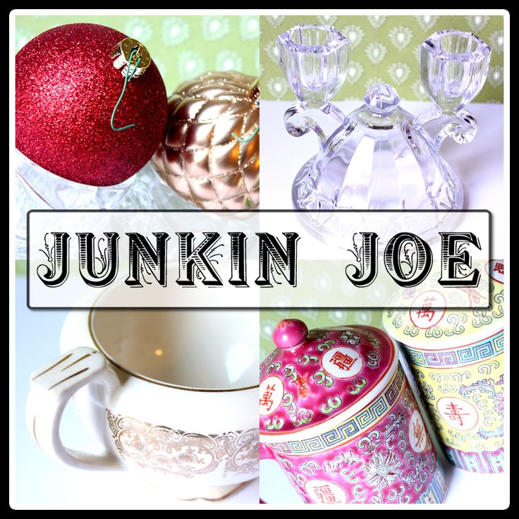 Adventures of Junkin Joe...Come and see his vintage and thrifty finds!  Enjoy all kind of features and of course come and PARTY every Friday with your favorite vintage or thrifty find...creation or treasure!  We welcome EVERYONE and thrifty recipes...projects are great too!  Hope to see you there!  The party is open for 5 days!