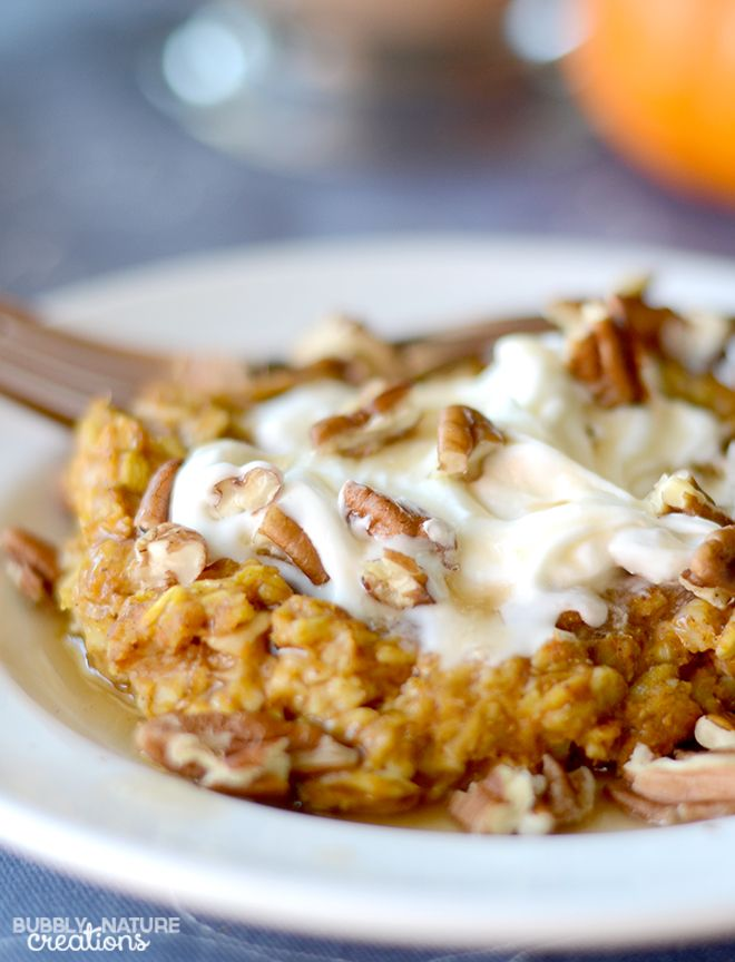 Pumpkin Pie Oatmeal! Perfect Fall Weather food... tastes like pumpkin ...