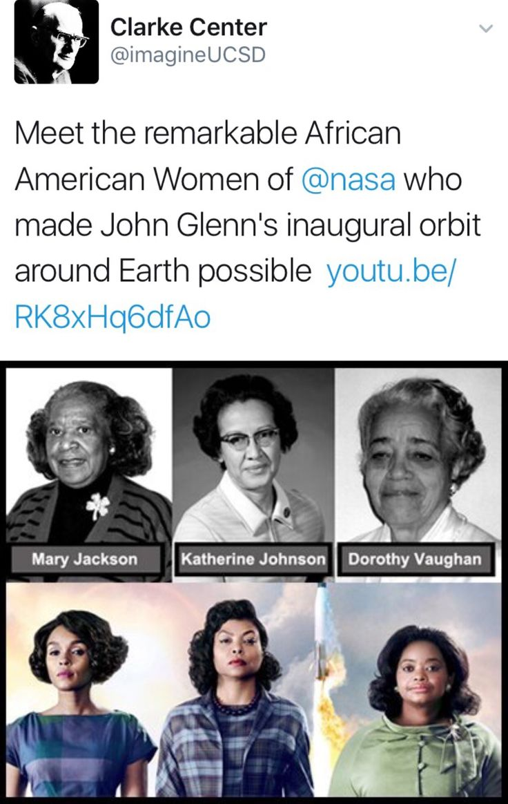 I'm so excited for this movie and numbed that I've never heard of these women!