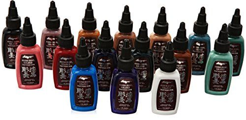 Kuro Sumi Tattoo Ink Primary Set 2, Color 16 - http://tattookits.co/kuro-sumi-tattoo-ink-primary-set-2-color-16/