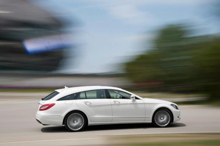 Mercedes-Benz CLS 250 CDI Shooting Brake, (X218), 2012 [Fuel consumption combined: 10,4-4,6 (l/100 km) CO2 emission combined: 243-122 g/km] #mbhess #mbcars #mbcls