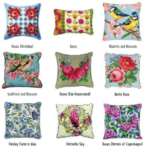 Een kussen borduren is leuk en makkelijk! Gezellig voor in de tuin of een zomerse sfeer in huis. Kijk voor meer informatie op CraftKitchen.nl.
