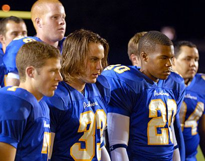 Saracen, Riggins, & Smash Williams.  The Dillon Panthers.  (Friday Night Lights)