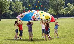 Groupon - Giant Parachute Party Toy in [missing {{location}} value]. Groupon deal price: $29.99