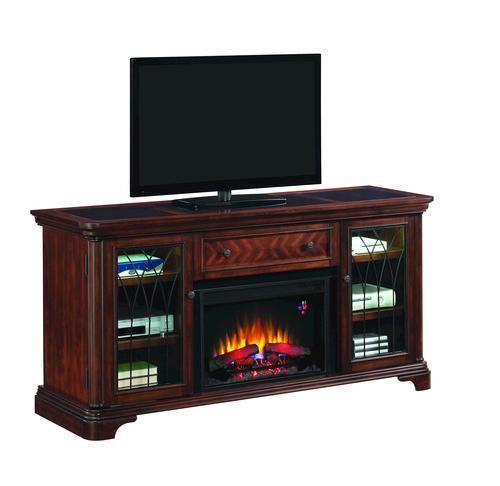 Electric Fireplace Insert Menards: Wickeliffe Electric Media Fireplace At Menards
