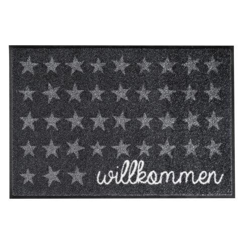 miaVILLA - Fußmatte Willkommen Sterne, waschbar und trocknergeeignet, 100% Nylon und Nitrilgummirücken #miavilla #stern #sterne #fussmatte #fußmatte