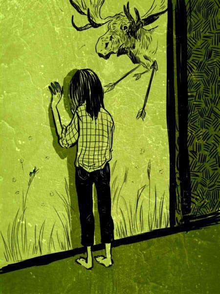 """Слепой """"любил Дом, как никто прежде. Ему нравился запах Дома, нравилось, что в нем много отсыревшей штукатурки, которую можно отколупывать от стен и поедать, нравился большой двор и длинные коридоры, по которым интересно бродить. Ему нравились щели в стенах Дома, его закутки и заброшенные комнаты, то, как долго в нем держатся следы проходящих, нравились дружелюбные призраки и все без исключения дороги, которые Дом перед ним открывал. Здесь он мог делать все, что хотел."""""""