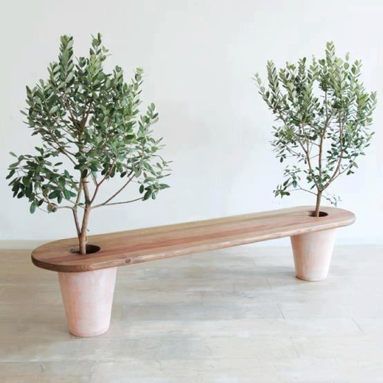 Banc jardinière. Retrouvez notre jardinière DIY toute simple ici : http://www.mavieencouleurs.fr/maison/decoration/fabriquer-une-jardiniere-originale?utm_source=pinterest&utm_medium=pin&utm_content=pas%20%C3%A0%20pas&utm_campaign=fabriquer%20une%20jardini%C3%A8re%20originale%2023052014