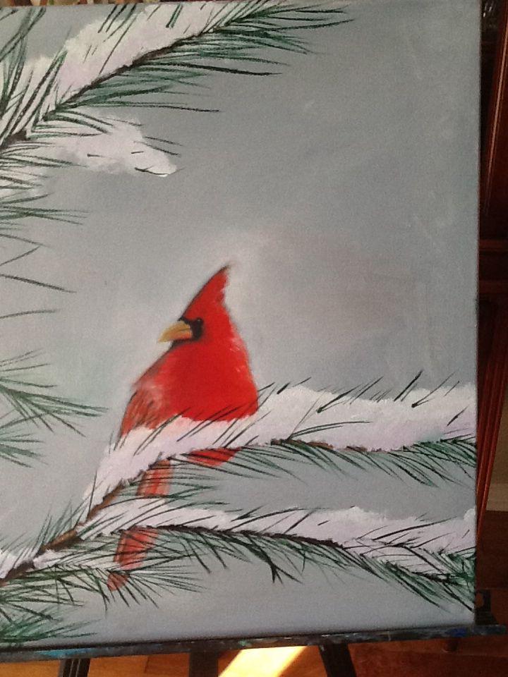Cardinal # 14 oil
