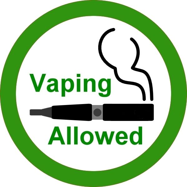 #VapingAllowed