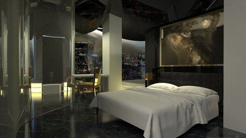 Karen Tan - Guerlain hotel guest room