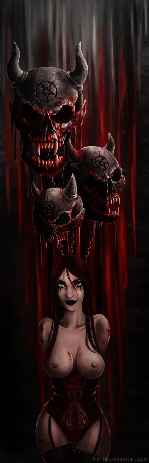 Bloody Balloons by Nyrine