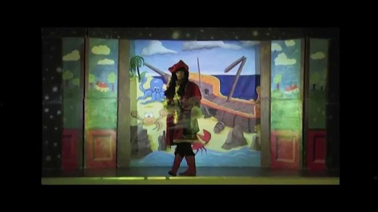 UpStage Commercial Video for Act One Productions Peter Pan touring Panto...