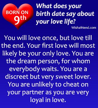 What does your birth date say about you in Melbourne