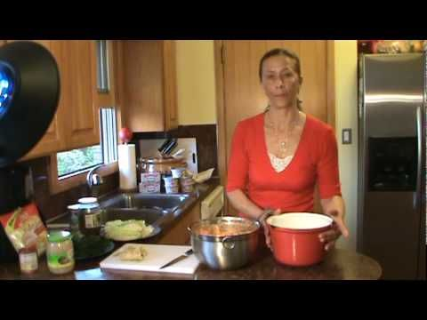 Romanian Stuffed Cabbage tutorial on youtube Sarmale, just wanted to see how she rolled her sarmale and used a different recipe for more of an authentic take