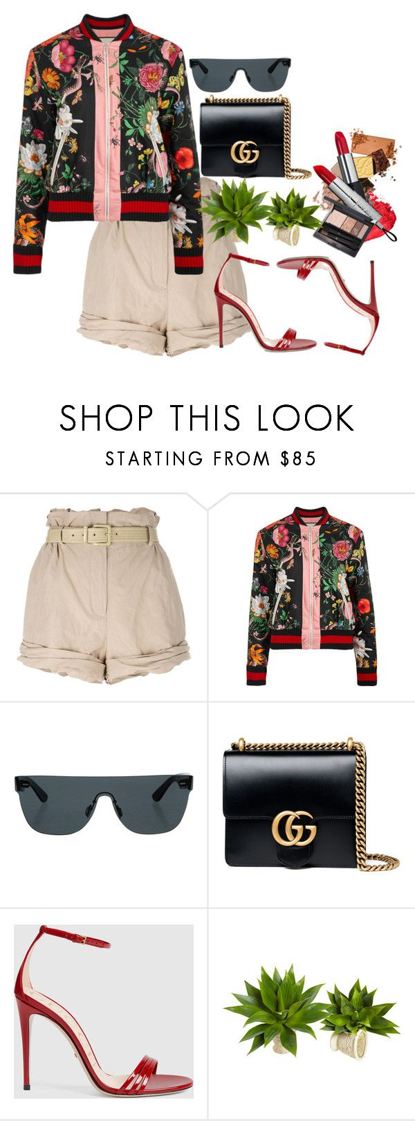 """""""I'm Gucci"""" by fashion-is-my-passion-14 on Polyvore featuring Moschino, Gucci and RetroSuperFuture"""