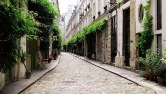 La ruelle cachée de la Place de la Bastille, La cour Damoye
