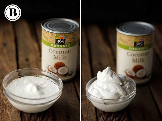 How-To Make Whipped Coconut Cream With five brands compared against each other in pictures before and after whipping