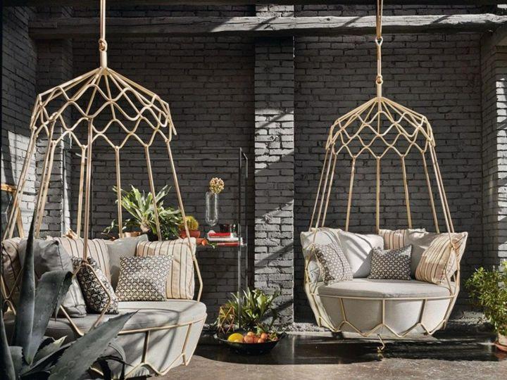 Jardines mobiliario para sacar el m ximo a todo el exterior muebles de ba o cocina sal n y - Mobiliario para jardin ...