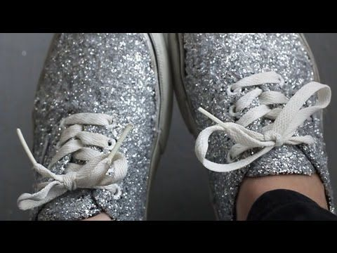 DIY  Glitter Shoes REVAMP YOUR OLD SHOES! - YouTube 9415cc179