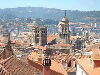 A view across Ourense, Spain where my grandparents are from...The Feijoo's