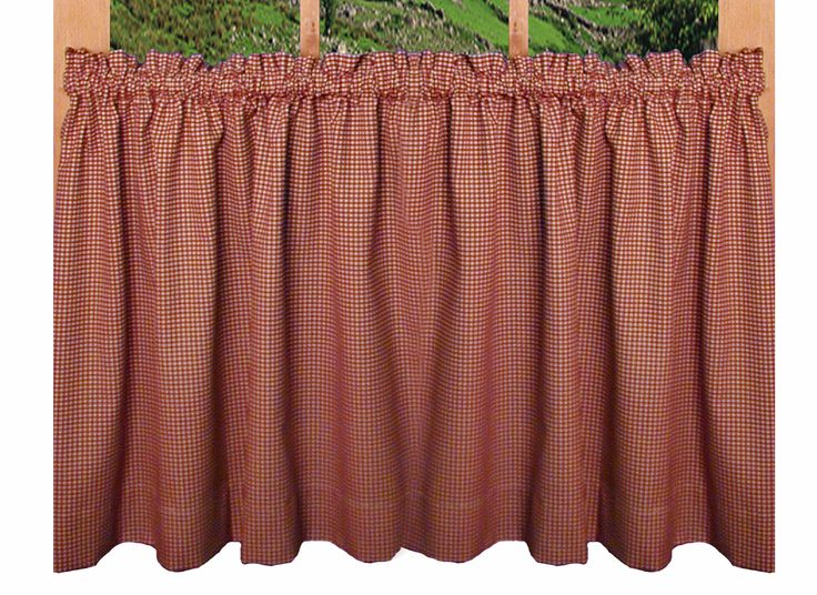 Curtains Ideas 36 inch cafe curtains : 17 Best images about Country Window Treatments - Country Style ...