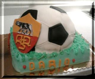 Sweet Time: Torta pallone da calcio