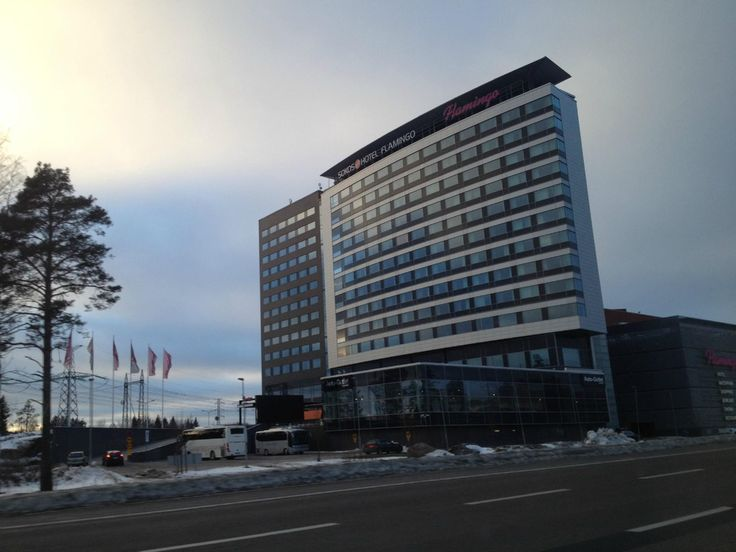 Flamingo Entertainment Centre (restaurants, bowling, minigolf, hotel, spa, movie theatre and shops) - Vantaa, Finland