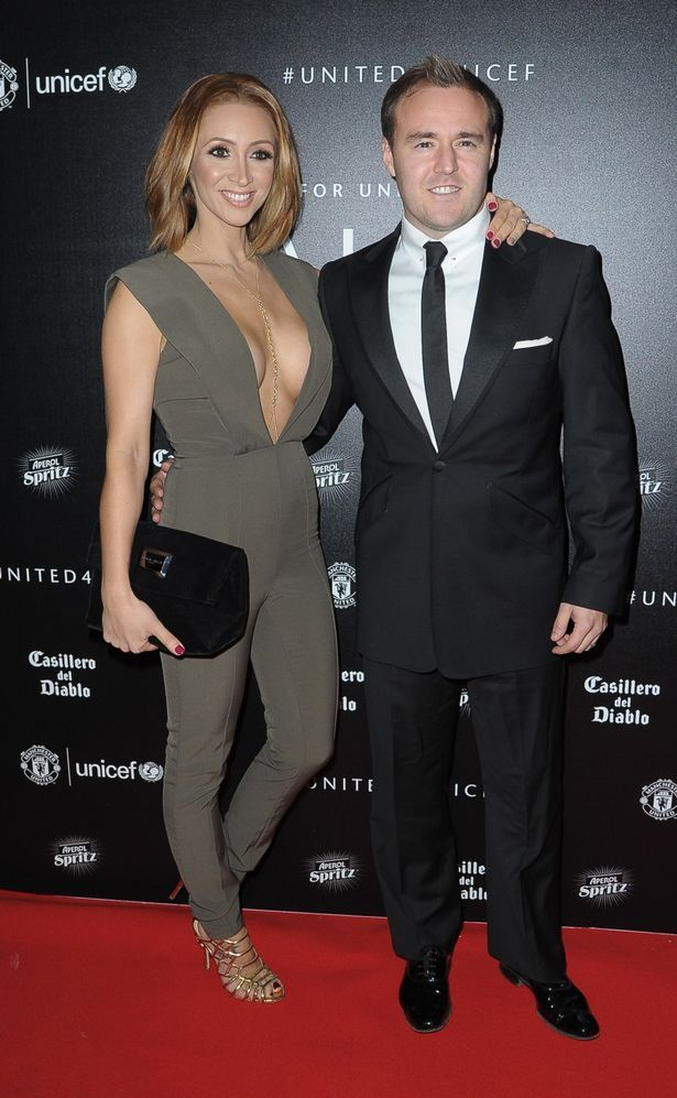 Looking loved-up in Manchester last November, but now Coronation Street's Alan Halsall and Lucy-Jo Hudson are set to split