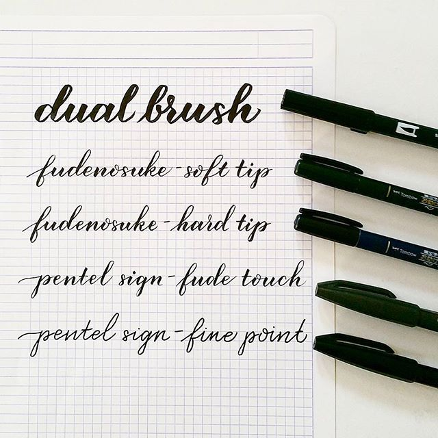 Not all brush pens are created equal. Yes, they allow you to writebrush calligraphy. But they are all differentin their own way. From the look and feel of the pen itself, the sharpness, flexibili…