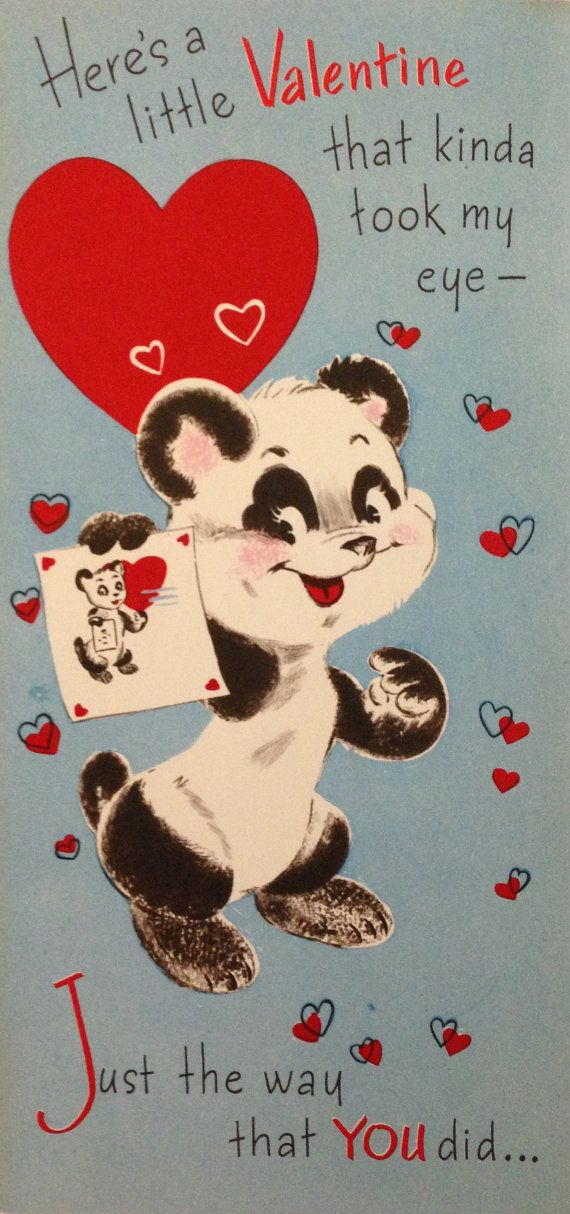 164 Best Images About Vintage Valentine Cards Bears On