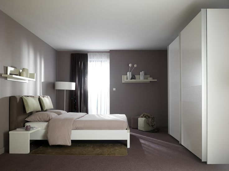 35 best chambre adulte images on pinterest bedroom colors and bulbs for Chambre adulte coloree