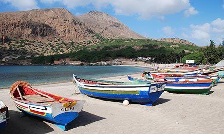 Santiago Island Cape Verde
