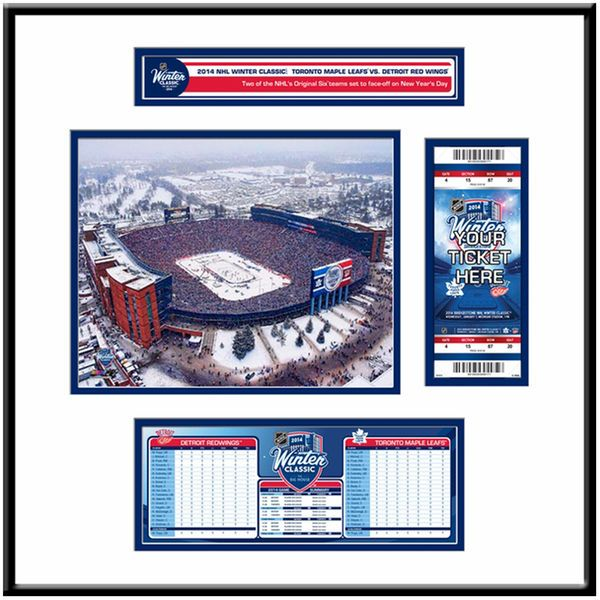 Toronto Maple Leafs 2014 NHL Winter Classic Ticket Frame Jr. - $119.99