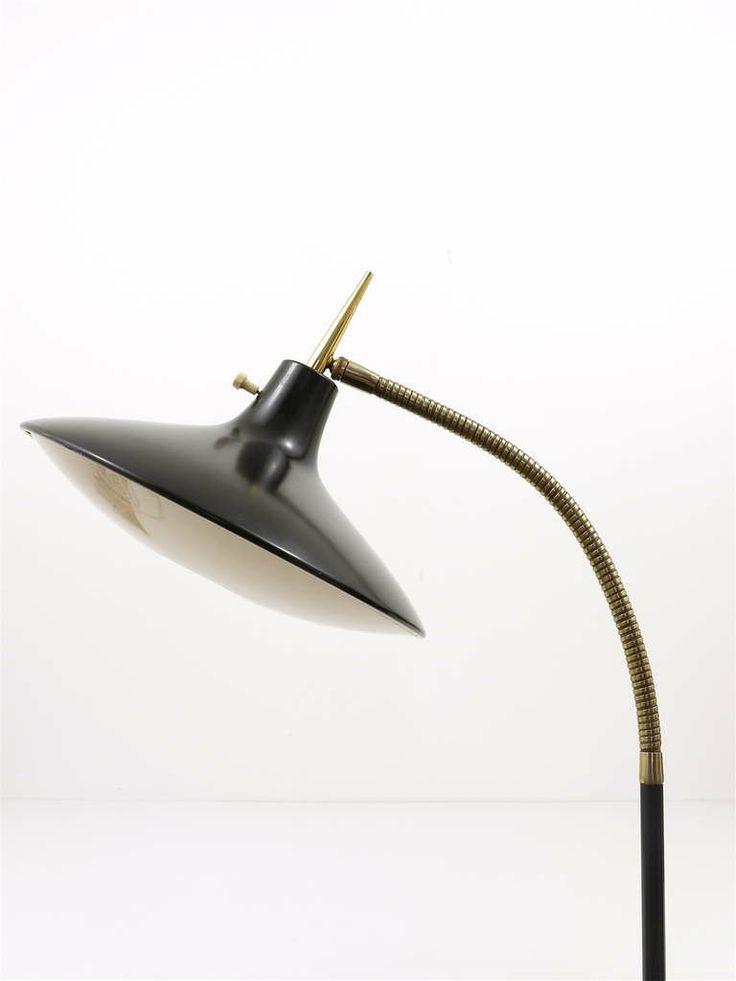 Black Modernist Floor Lamp B 683 by Laurel  1950s  Modern Floor LampsGio. 618 best Classic Modern Furniture images on Pinterest   Modern