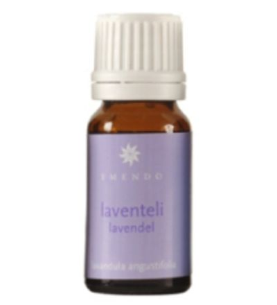 4,20 EUR | Emendon aidot 100% eteeriset öljyt sopivat aromaterapiaan ja tuoksulyhtyihin. Öljyt ovat helppokäyttöisiä ja riittoisia. Lämmin öljy piristää, kohottaa mielialaa ja rauhoittaa. Laventeli (Lavandula angustifolia): rentouttaa, rauhoittaa ja tasapainottaa mieltä sekä lisää univalmiutta.<BR><BR><ul><li>Pakkauskoko: 10 ml</li><li>Tuoksu: Laventeli</li></ul>