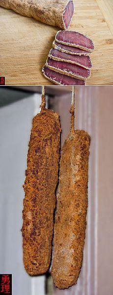 Бастурма. Мясо в специях, вяленое на открытом воздухе